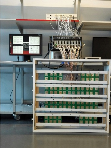 Figure 1 : OpenAirInterface  Massive MIMO testbed: One of the world's first real-time full LTE protocol stack compatible testbed